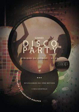 Summer Disco Party