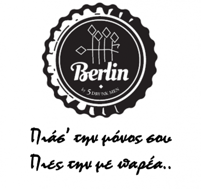 Berlin (by 5 drunk men) logo