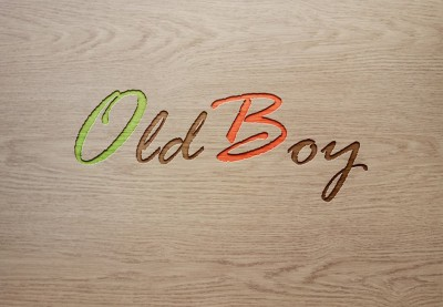 Old boy  logo