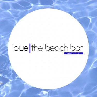 Blue the beach bar logo